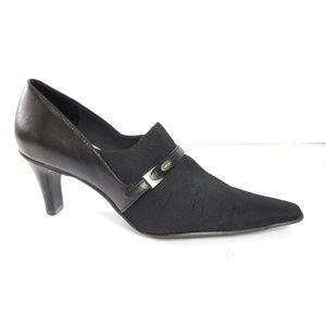 Circa Joan & David black heels 6M